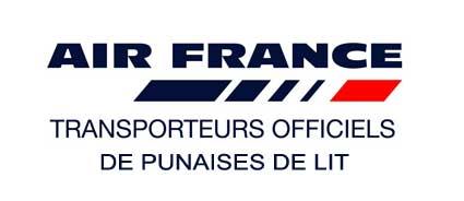 Des punaises de lit Chez Air France